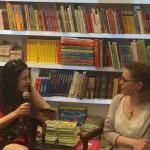 Con Eleonora Mazzoni