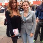 Con SElvaggia Lucarelli